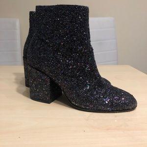 ASH Sequin Heel Boots